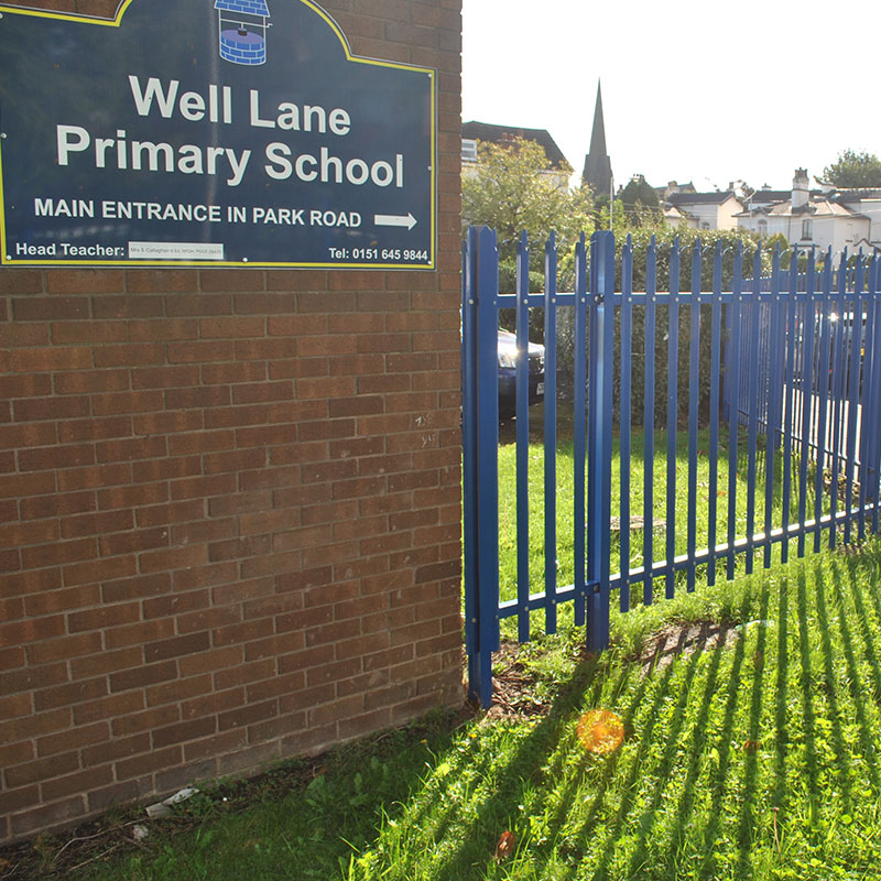 Extra Security for a Wirral School